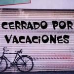 Cerrado por vacaciones!!!