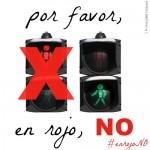 Somos espejos: Por favor, en rojo no!