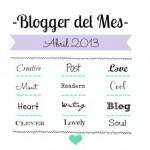 Me han nombrado Blogger del Mes!