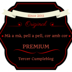 Tercer aniversario del blog y Sorteo!! CERRADO