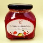 Mermelada de fresa y jengibre
